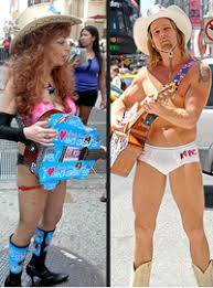 Why Can't Accomplished Stripper and Copy-Cat Cowgirl Sandy Kane Be a Little  More Creative?   The Village Voice