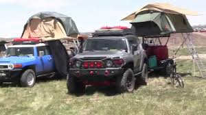 Toyota FJ's at the Overland Expo - YouTube