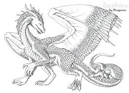 Dragon Coloring Pages For Adults Color Pages Of Dragons Printable