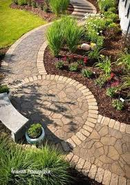 small front yard landscaping pathway