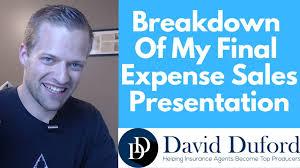 Sales Presentaion A Top Producers 4 Part No Pressure Final Expense Sales