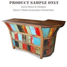 nautical furniture ideas. bar table made from reclaimed boat timber nautical recycled boatwood furniture ideas