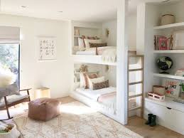 Cool bunk bed for girls Curtain Shared Girls Room With Bunk Beds Winter Daisy Inspiration Shared Kids Rooms With Bunk Beds Winter Daisy