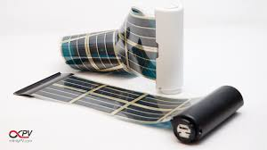 opv organic solar cells polymer solar cells flexible solar panel solar tape sticker infinitypv