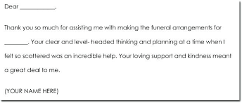 Thank You Note After Funeral To Coworkers Thank You Notes For Bereavement To Coworkers Aitchcue