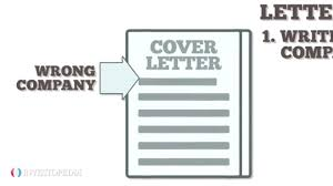 Definition For Cover Letter 7 Cover Letter Blunders