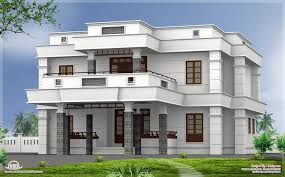 Small Picture flat roof homes designs BHK modern flat roof house design