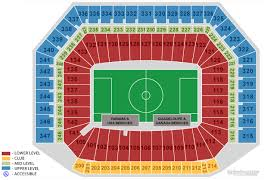 The Detroit Soccer Blog Ford Field Seating Chart For The