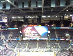Cavs Virtual Seating Chart Rocket Mortgage Fieldhouse Section 209 Seat Views Seatgeek