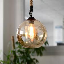 modern retro lighting. aliexpresscom buy modern american style pendent lamp restaurant bar loft rope lighting lamps retro living room glass light from reliable p