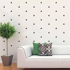 Small Picture Mini Triangle Pattern Removable vinyl wall art decals by Vivid