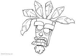 Résultat De Recherche Dimages Pour Aku Aku Crash Bandicoot