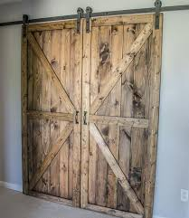 3 stylish rustic sliding pallet interior door by 1001pallets