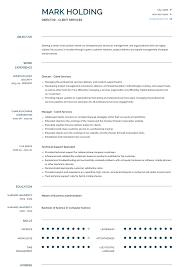 Resume Professional Services Client Services Resume Samples And Templates Visualcv