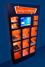 How To Make A Vending Machine Spew Out Money New The SwapOMatic Vending Machine Exchanges Goods For Goods