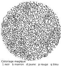 Coloriage Magique Cp Les Beaux Dessins De Autres Imprimer Et