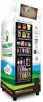 Healthy Food Vending Machines Franchise Custom Food Vending Healthy Vending Machines By HUMAN