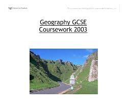 A full marks GCSE geography coursework rivers SlideShare