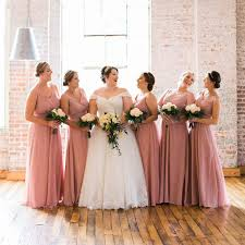 the best bridesmaid s dress colors for fall weddings martha