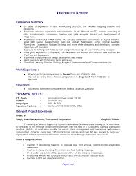 Informatica Resumes Informaticample Resume Developer Bongdaao Com Best Of Experience 1