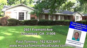 2601 Fremont Ave Columbus Ga Homes For Sale In North Columbus Ga