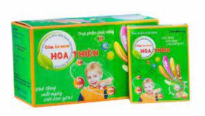 Cốm siro ăn ngon Hoa Thiên cho trẻ có tốt không giá bao nhiêu?