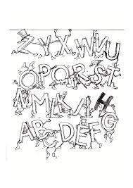 Alphabet 11447 Coloriages Alphabet Et Lettres