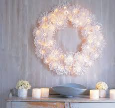 unique diy lighting. Paper Doily Wreath Unique Diy Lighting