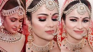 indian bridal makeup tutorial yuvika chowdhary inspired glowing modern look in hindi beauty beauty