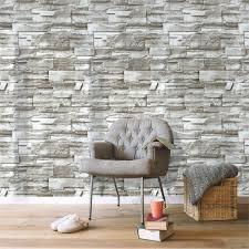 Wallpaper-YYDD 1Roll Modern 3D Brick ...