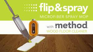 flip spray microfiber spray mop