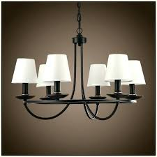 decoration black wrought iron chandelier with shades candle small chandeliers