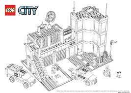 Coloriage Lego City Police Quariter General Jecolorie Com