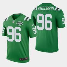 Green Jets Legend Jersey Rush Henry Men's Color Anderson -