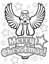 Kids N Fun Kleurplaat Kerstengelen Kerstengelen