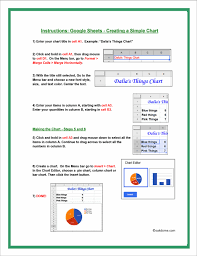 How To Create A Pie Chart In Google Spreadsheet Google Classroom Make A Simple Spreadsheet And Pie Chart
