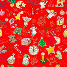 red and green christmas wallpaper. Wonderful Green Christmas Pattern With Toys And Season Greetings Icons On A Green  Background Childlike Drawn Wallpaper  Stock Vector Colourbox For Red And Green Wallpaper A