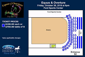 Overture Seating Chart Events Equus And Overture Ford Idaho Center