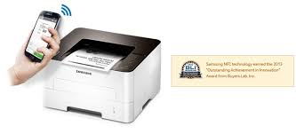 samsung xpress m2835dw. print wirelessly and share effortlessly with the samsung xpress m2835dw. get on tap! advanced nfc technology, simply tap your mobile device to m2835dw