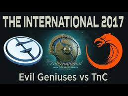dota 2 live eg vs tnc the international 2017 live broadcast