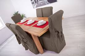 set of 8 slate grey fabric dining chair covers for scroll top high back leather about this picture 1 of 5 picture 2 of 5