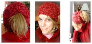 Ponytail Hat Knitting Pattern Magnificent When A Knitting Fail Turns Out To Be A Success LoveKnitting Blog