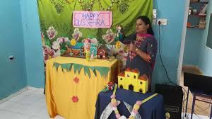 Dussehra Charts For School Dussehra Celebration Little Flowers Pre Primary School