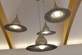 gahr metal pendant light artistic light fixtures