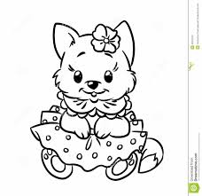 Small Picture Stunning Coloring Pages Kittens Puppies Images New Printable