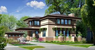 Prairie Style Home Plans Designs New Prairie Style Home For Sale In Elmhurst Il Prairie