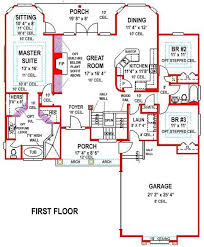 ... 4 Bedroom House Plans With Basement 5 Bedroom Ranch House Plans  Viewzzeefo Viewzzeefo ...