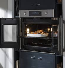brilliant touch wall ovens single handedly open both doors