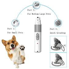 2019 3 modes electric dog nail grinder usb charge pet nail supplies for professionals pets dog clippers grooming tool dog accessories from homegardan