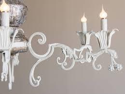 rectangular gray wood 3 light valencia chandelier